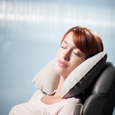 Design Go The Snoozer Grigio cuscino da letto