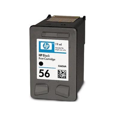 HP cartuccia a getto d'inchiostro nero HP 56 (19 ml)