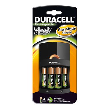Duracell CEF 14 + 2xAA + 2xAAA