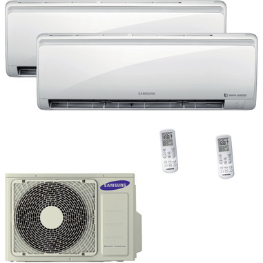 Samsung AJ040FCJ2EH + AR09MSFPEWQNET + AR12MSFPEWQNET condizionatore d'aria dual split