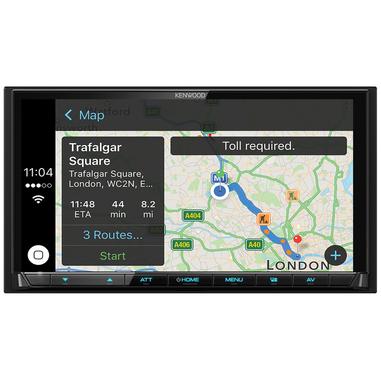 Kenwood Electronics DMX7017DABS 200W Bluetooth Nero autoradio
