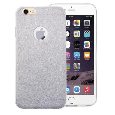 Phonix Cover Glitter per Apple iPhone 7 - Argento