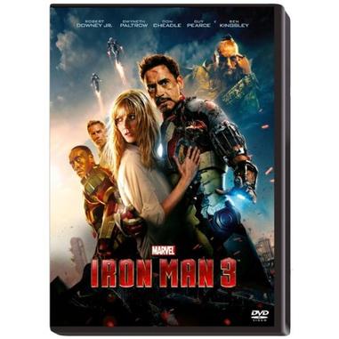 Iron Man 3 (2013), DVD