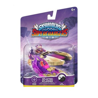 Skylanders super chargers vehicle Splatter Splasher