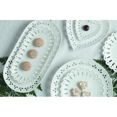 Maxwell & Williams AY0043 Piatto da dessert Altro Porcellana Bianco 1pezzo(i) piatto piano