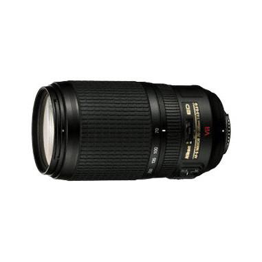Nikon AF-S VR 70-300mm 1:4.5-5.6G IF-ED SLR Telephoto zoom lens Nero