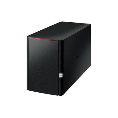 Buffalo LinkStation 220DR Armada 370 Collegamento ethernet LAN Desktop Nero NAS