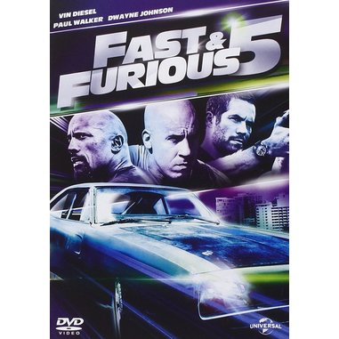 Fast and Furious 5 (DVD)