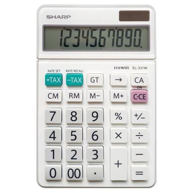 Sharp EL-331W calcolatrice Calcolatrice finanziaria Bianco