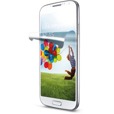 Cellularline Ok Display Anti-Glare - Galaxy S4/S4 Black Ed./S4 Value Ed. Pellicola protettiva antiriflesso, isibilitа perfetta anche al sole Trasparente