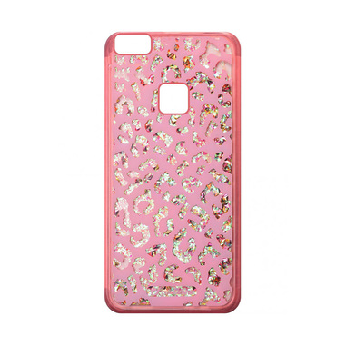 Cellularline Stardust Leopard - P10 Lite Custodia rigida con bordi in gomma