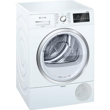 Siemens iQ500 WT47R490 asciugatrice Libera installazione Caricamento frontale Bianco 8 kg A+++