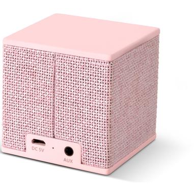 Fresh 'n Rebel Rockbox Cube Fabriq minispeaker rosa